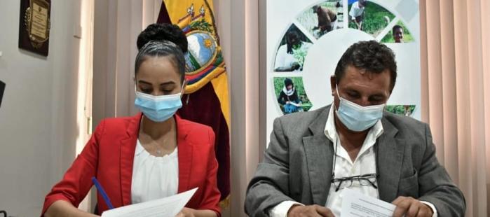 Suscripción de Convenio de fortalecimiento de las instancias territoriales desconcentraras de Conagopare.