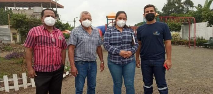 ING. SHEILA MONGE TÉCNICA DEL CONAGOPARE EL ORO, REALIZÓ ACTIVIDADES DE INSPECCIÓN PARA LA ELABORACIÓN DEL PROYECTO DE
