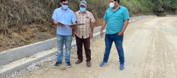 PROYECTOS DE CONSTRUCCIÓN DE BORDILLO-CUNETA EN SITIOS DE LA PARROQUIA DE CAPIRO.